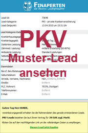PKV Muster-Lead
