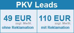 PKV Lead Preise